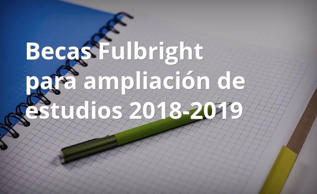 beca fulbright doctorado